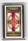 NORFOLK REGIMENT 1st Bn COLOURS FRIDGE MAGNET